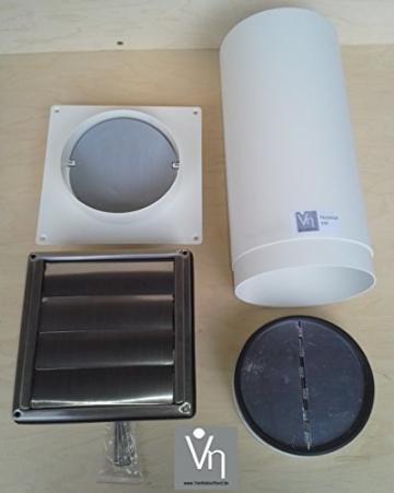 Mauerkasten NW150 mit Teleskop Rohr MKWSQLE150BDS zubehör